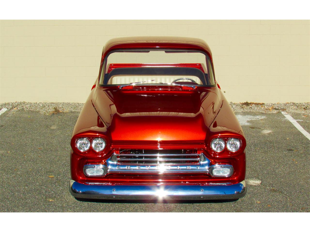 1959 Chevrolet Fleetside Custom Pickup Truck  (CC-919939) for sale in Stow, Massachusetts