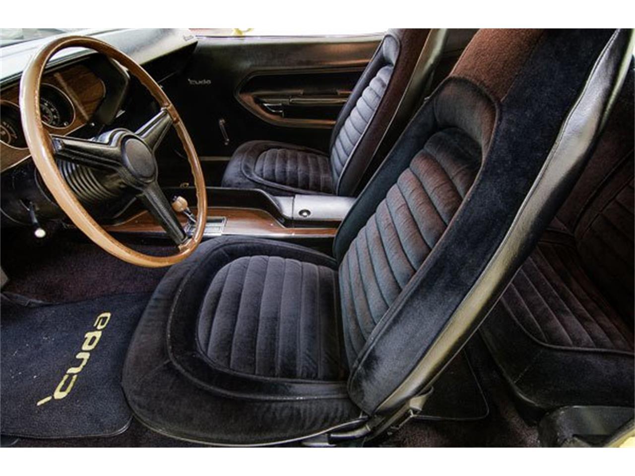 1970 Plymouth Cuda (CC-920257) for sale in Concord, North Carolina