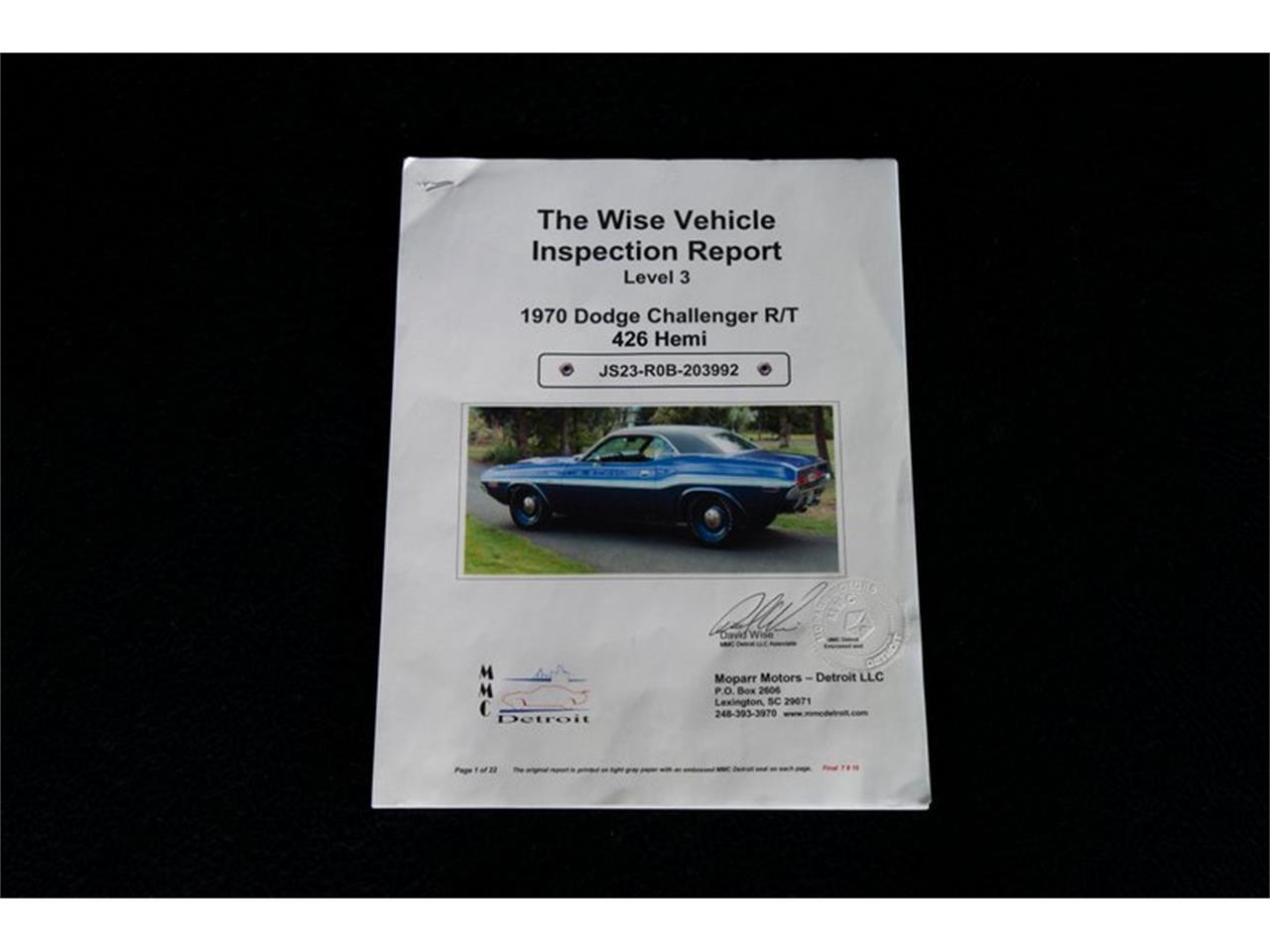 1970 Dodge Challenger R/T (CC-923744) for sale in Charlotte, North Carolina