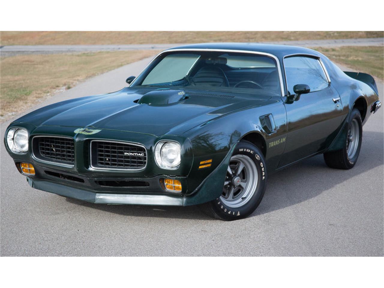 1973 Pontiac Firebird Trans Am For Sale Classiccars Com