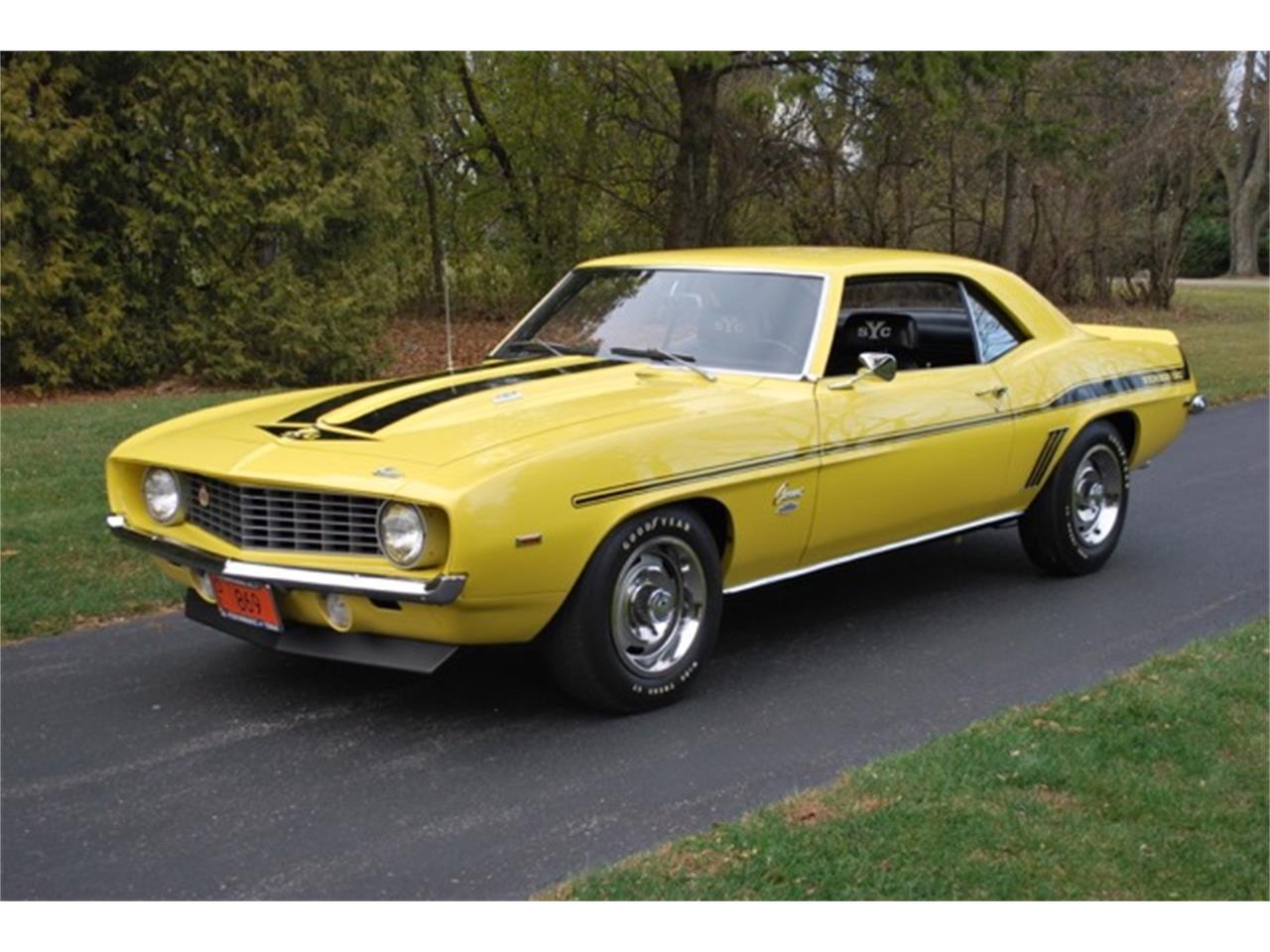 Yenko Camaro For Sale >> 1969 Chevrolet Camaro Copo Yenko For Sale Classiccars Com