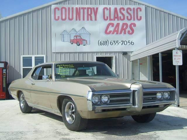 1969 Pontiac Bonneville (CC-938290) for sale in Staunton, Illinois