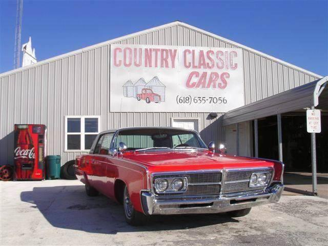 1965 Chrysler Crown Imperial (CC-938309) for sale in Staunton, Illinois