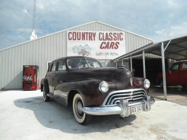 1947 Oldsmobile 4-Dr Sedan (CC-938393) for sale in Staunton, Illinois