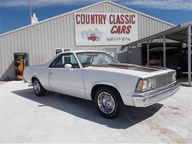 1980 Chevrolet El Camino (CC-938812) for sale in Staunton, Illinois
