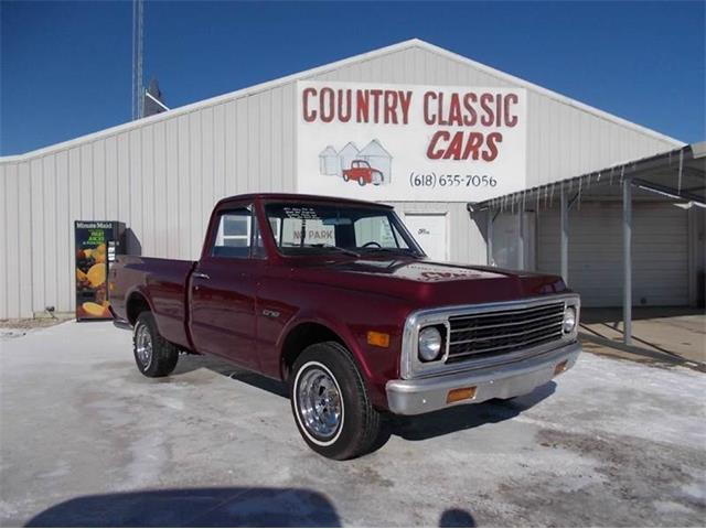 1971 Chevrolet C/K 10 (CC-938951) for sale in Staunton, Illinois