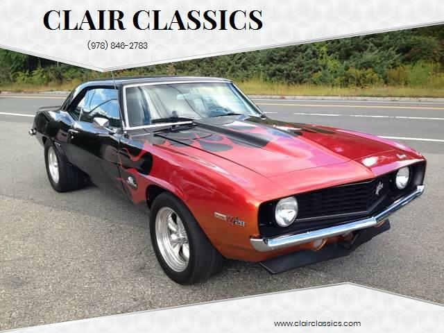 1969 Chevrolet Camaro Z28 (CC-940914) for sale in Westford, Massachusetts