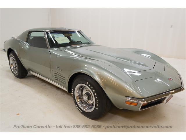 1972 Chevrolet Corvette (CC-953282) for sale in napoleon, Ohio