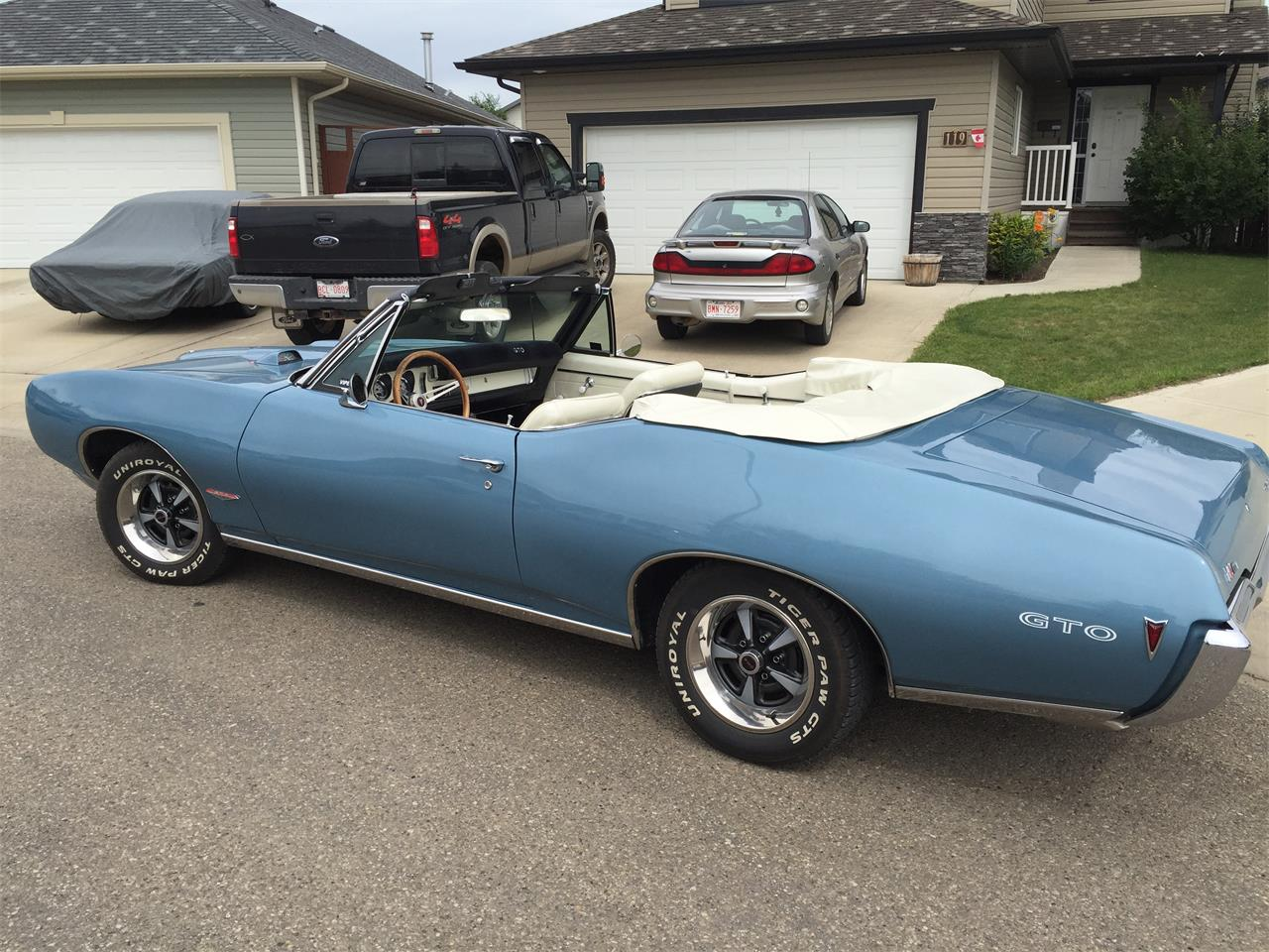 1968 Pontiac GTO (CC-967192) for sale in Red Deer, Alberta