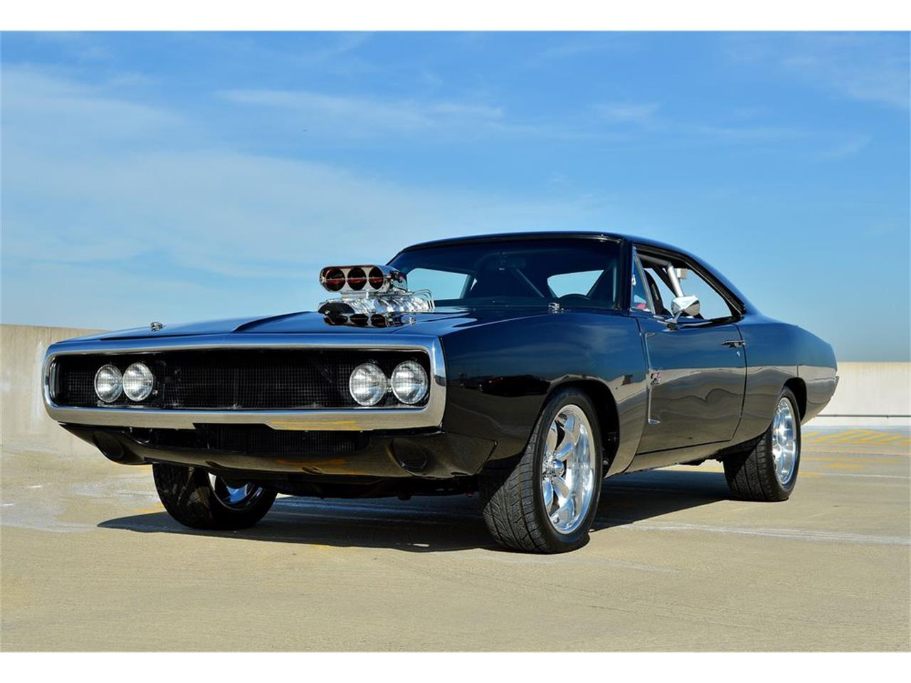 1968 Dodge Charger Fast N Furious Movie Car for Sale   ClassicCars.com    CC-968915