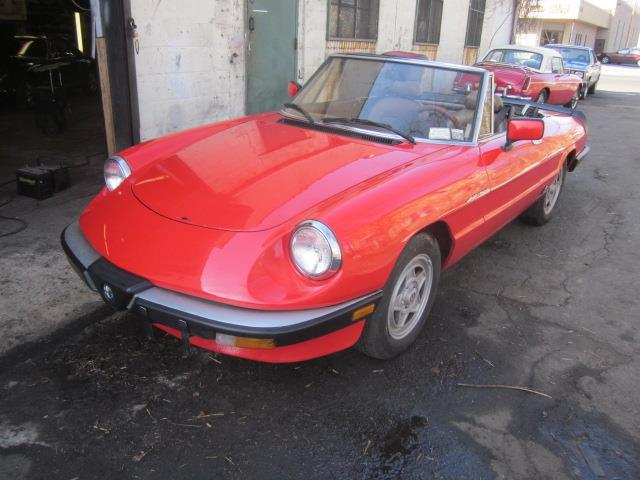 1984 Alfa Romeo 2000 Spider Veloce (CC-969795) for sale in Stratford, Connecticut