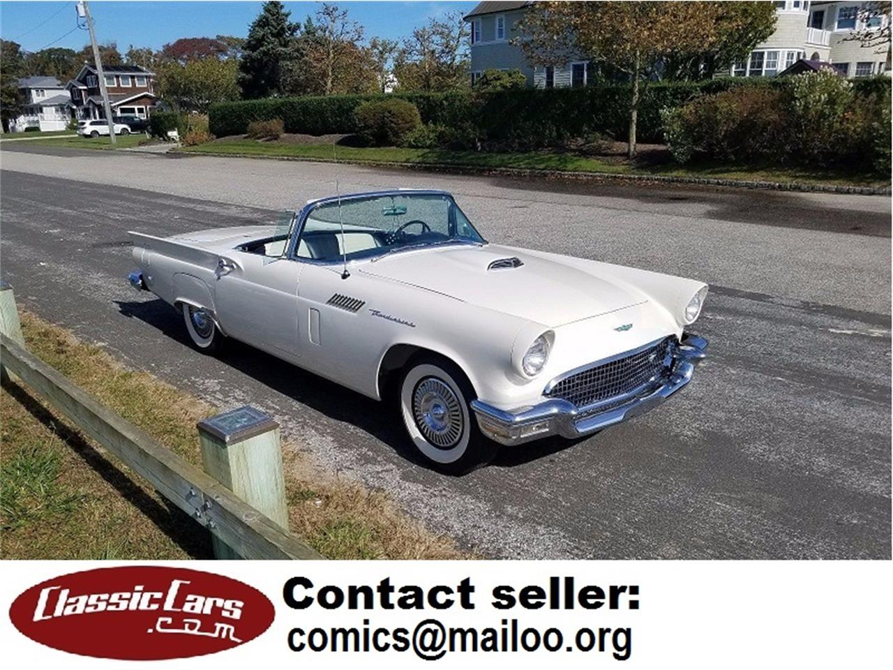 1957 Ford Thunderbird (CC-973282) for sale in Oceanside, California