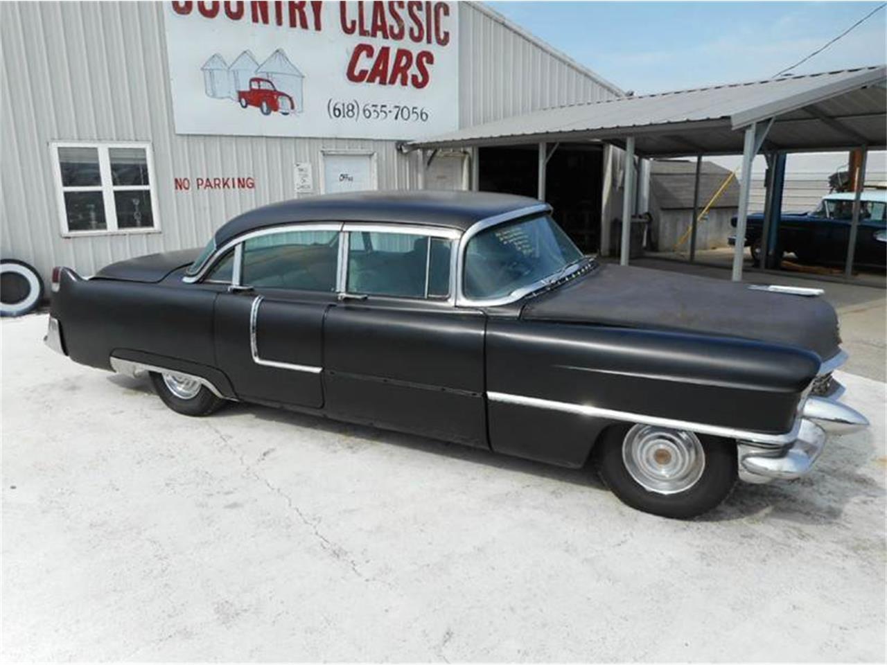 1955 Cadillac 4-Dr Sedan (CC-974883) for sale in Staunton, Illinois