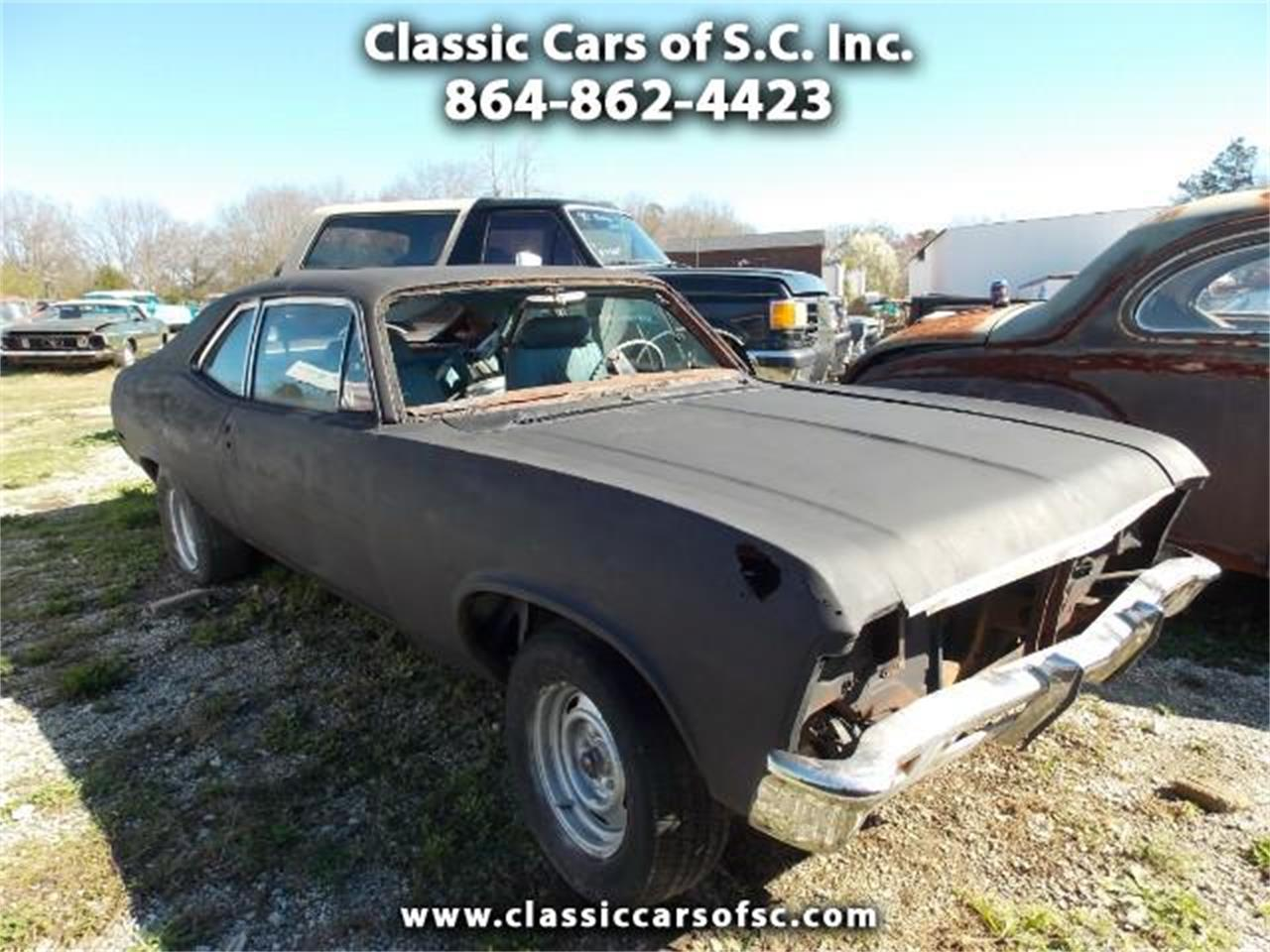 1969 Chevrolet Nova For Sale Classiccars Com Cc 977134
