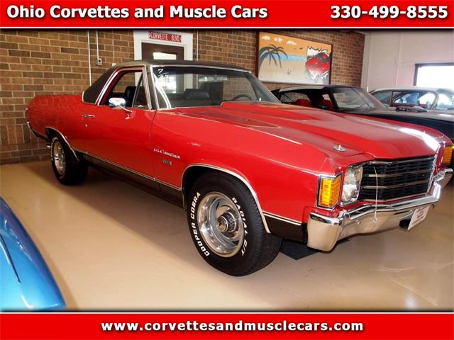 1972 Chevrolet El Camino (CC-978282) for sale in North Canton, Ohio