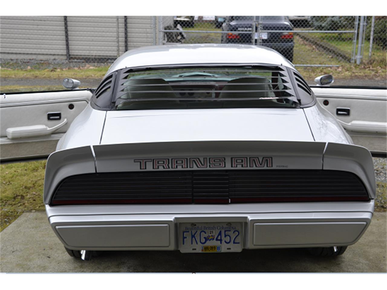1979 Pontiac Firebird Trans Am (CC-981339) for sale in Nanaimo, British Columbia