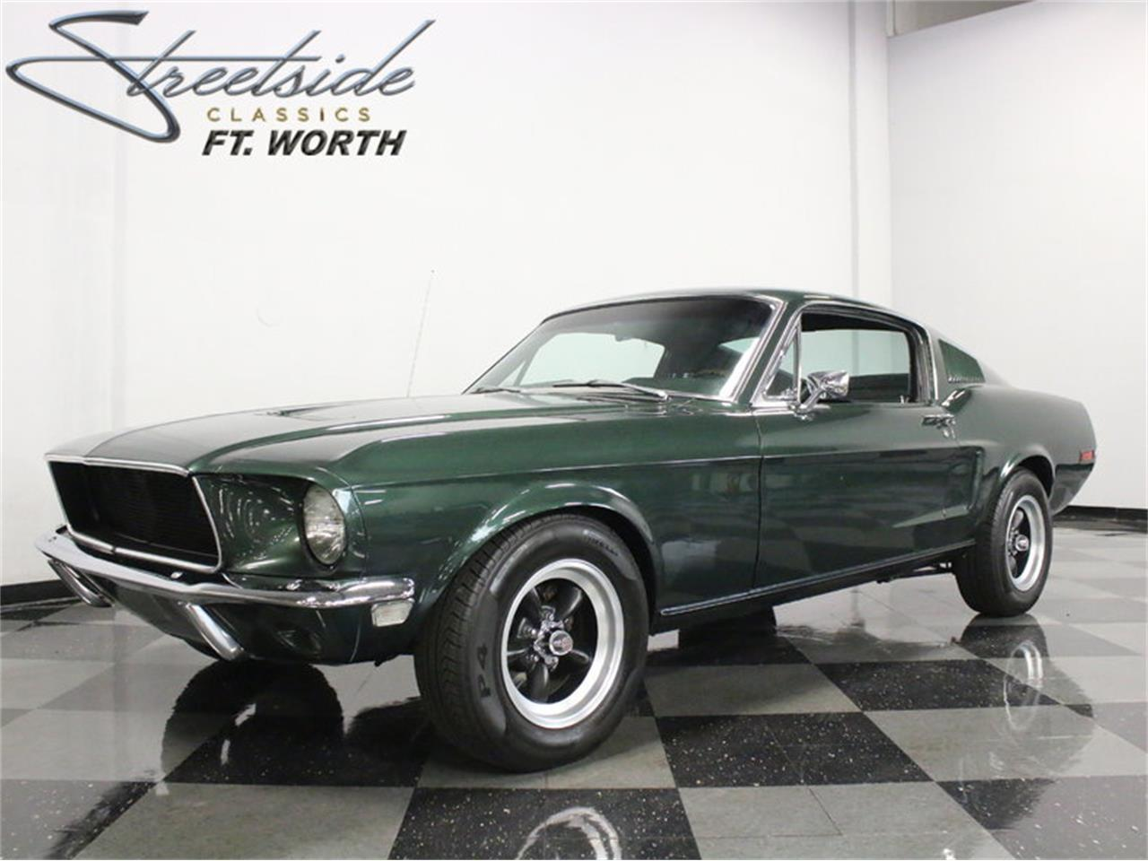 1968 Ford Mustang Bullitt Tribute For Sale Classiccars Com Cc