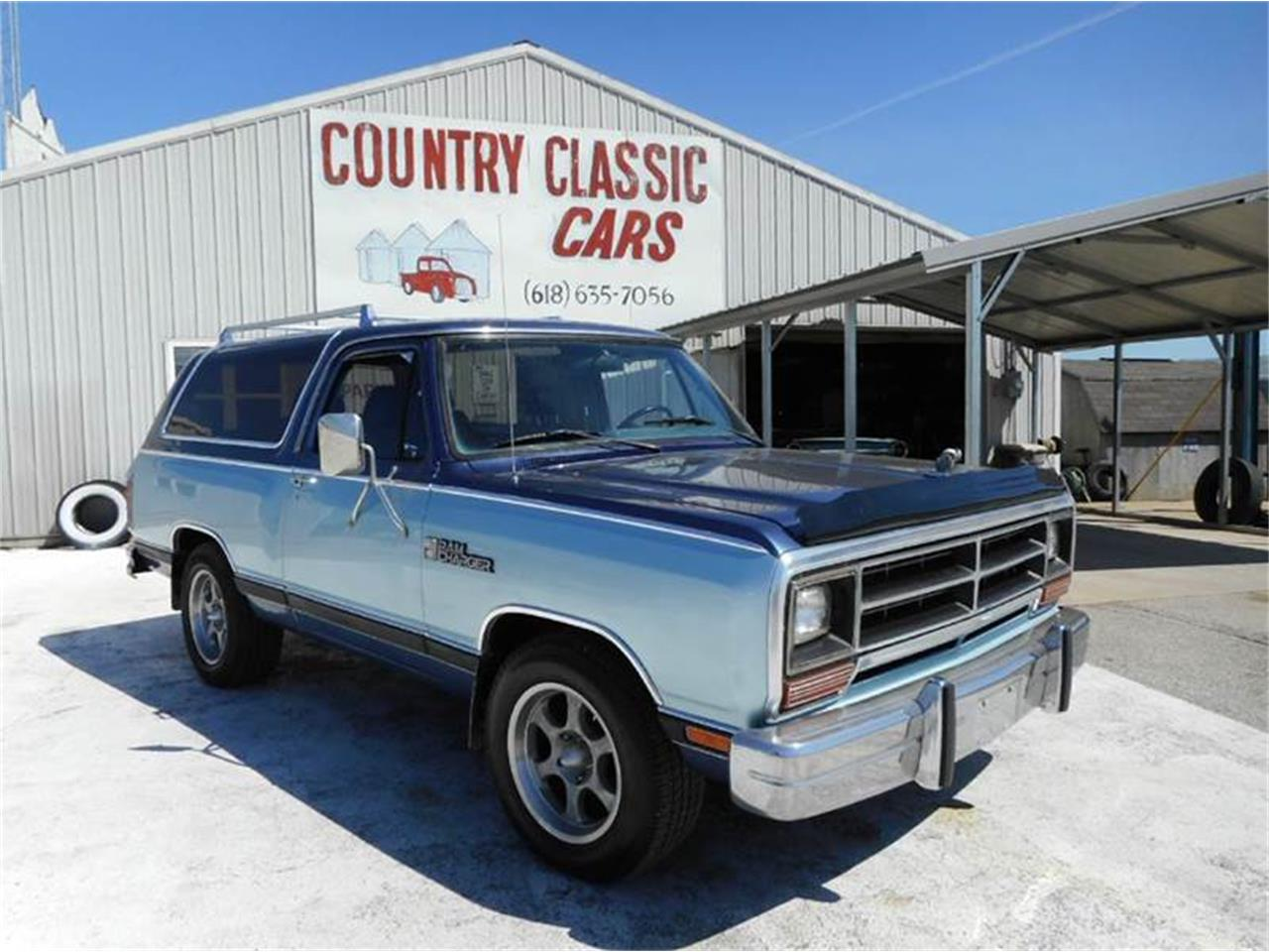 1987 Dodge Ramcharger For Sale Classiccars Com Cc 985139