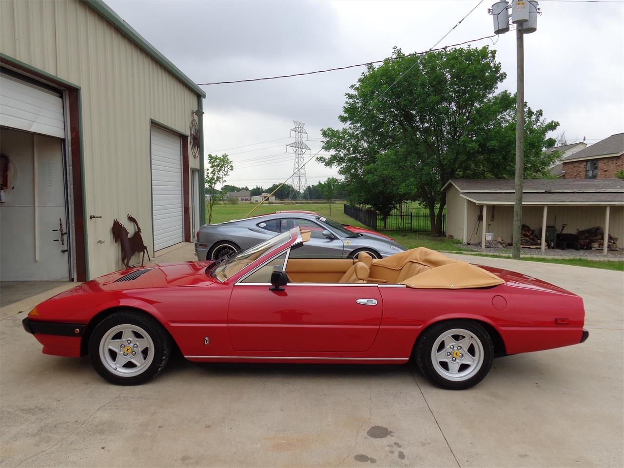 1980 Ferrari 400i Twin Turbo V12 Convertible (CC-986751) for sale in Rowlett , Texas