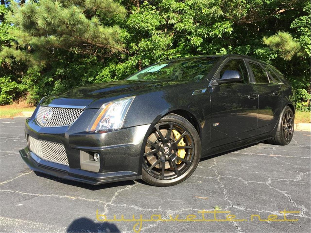 Cadillac Cts-V Wagon For Sale >> 2012 Cadillac Cts V Wagon For Sale Classiccars Com Cc 988936