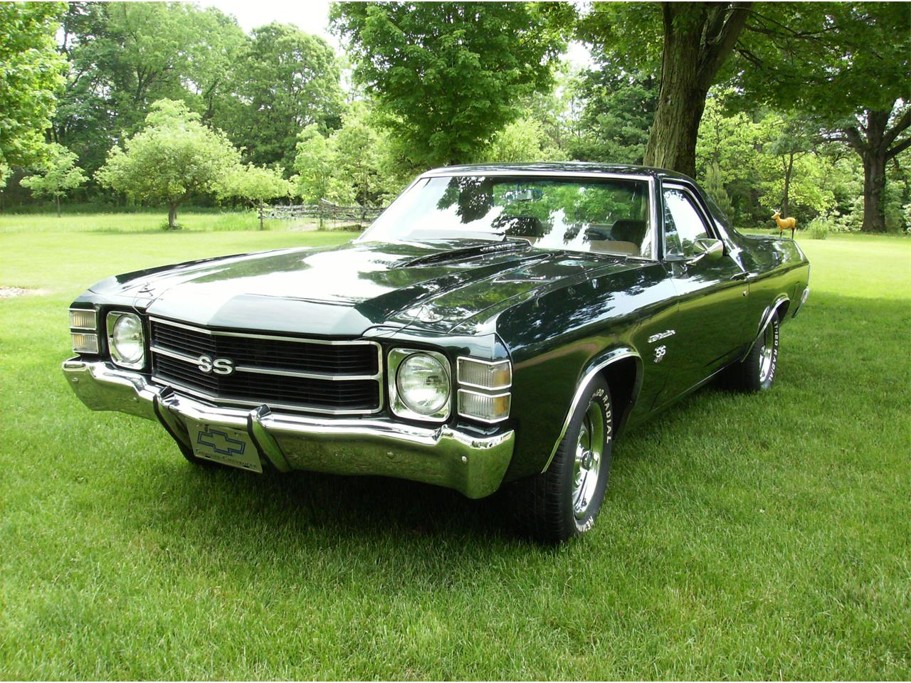 1971 Chevrolet El Camino SS (CC-989049) for sale in Paw Paw, Michigan