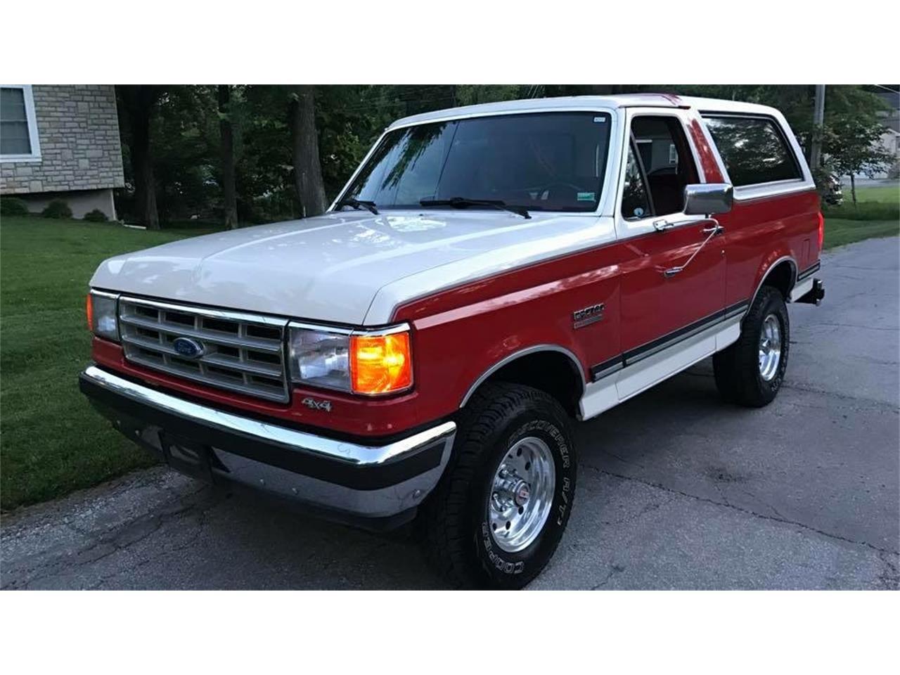 1987 Ford Bronco For Sale Classiccars Com Cc 989812