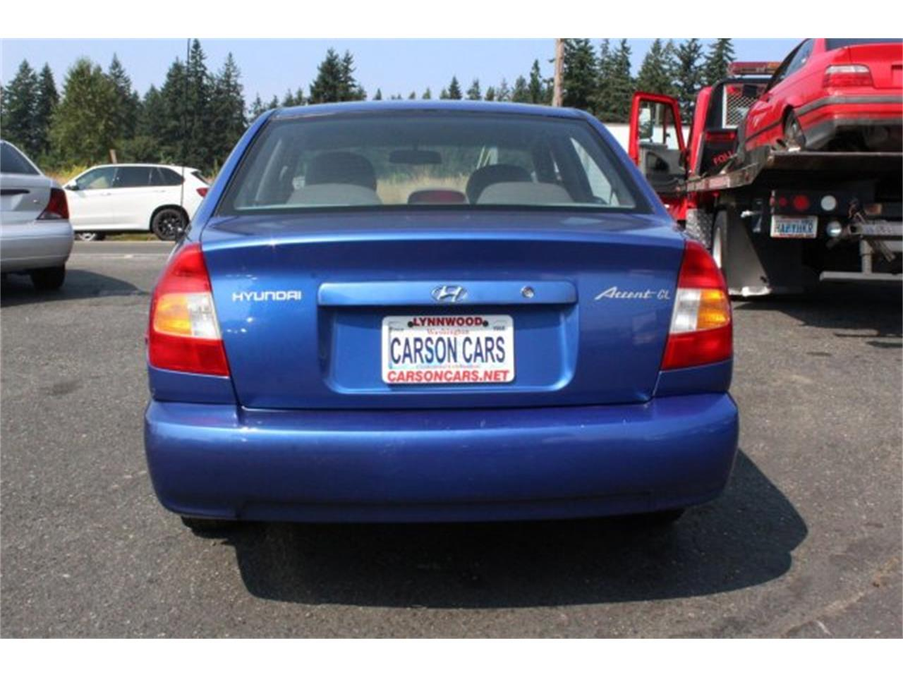 2002 hyundai accent for sale classiccars com cc 991454 2002 hyundai accent for sale