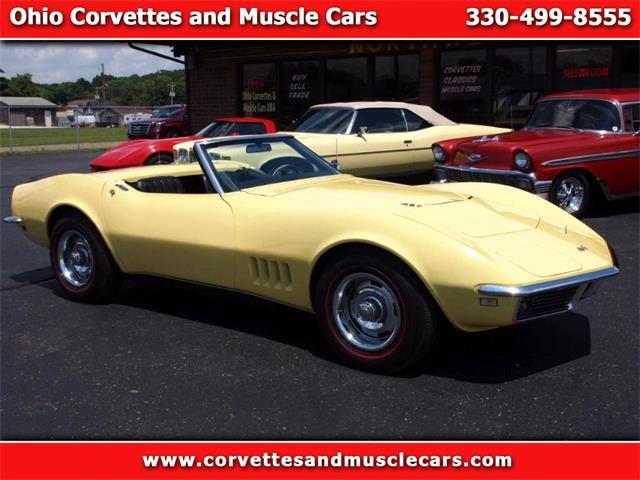 1968 Chevrolet Corvette (CC-993611) for sale in North Canton, Ohio