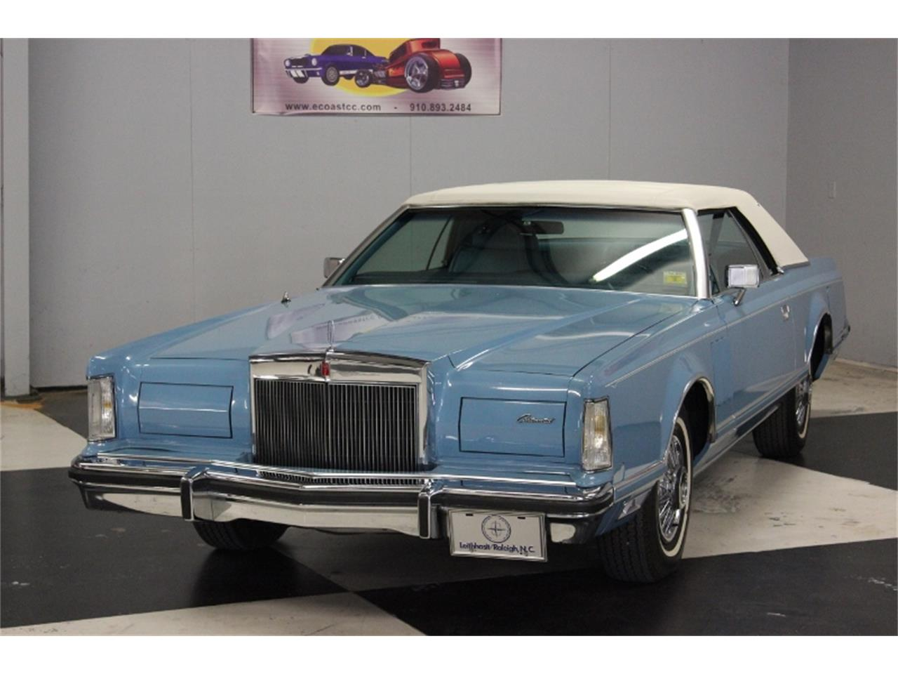 1978 Lincoln Continental Mark V (CC-993910) for sale in Lillington, North Carolina