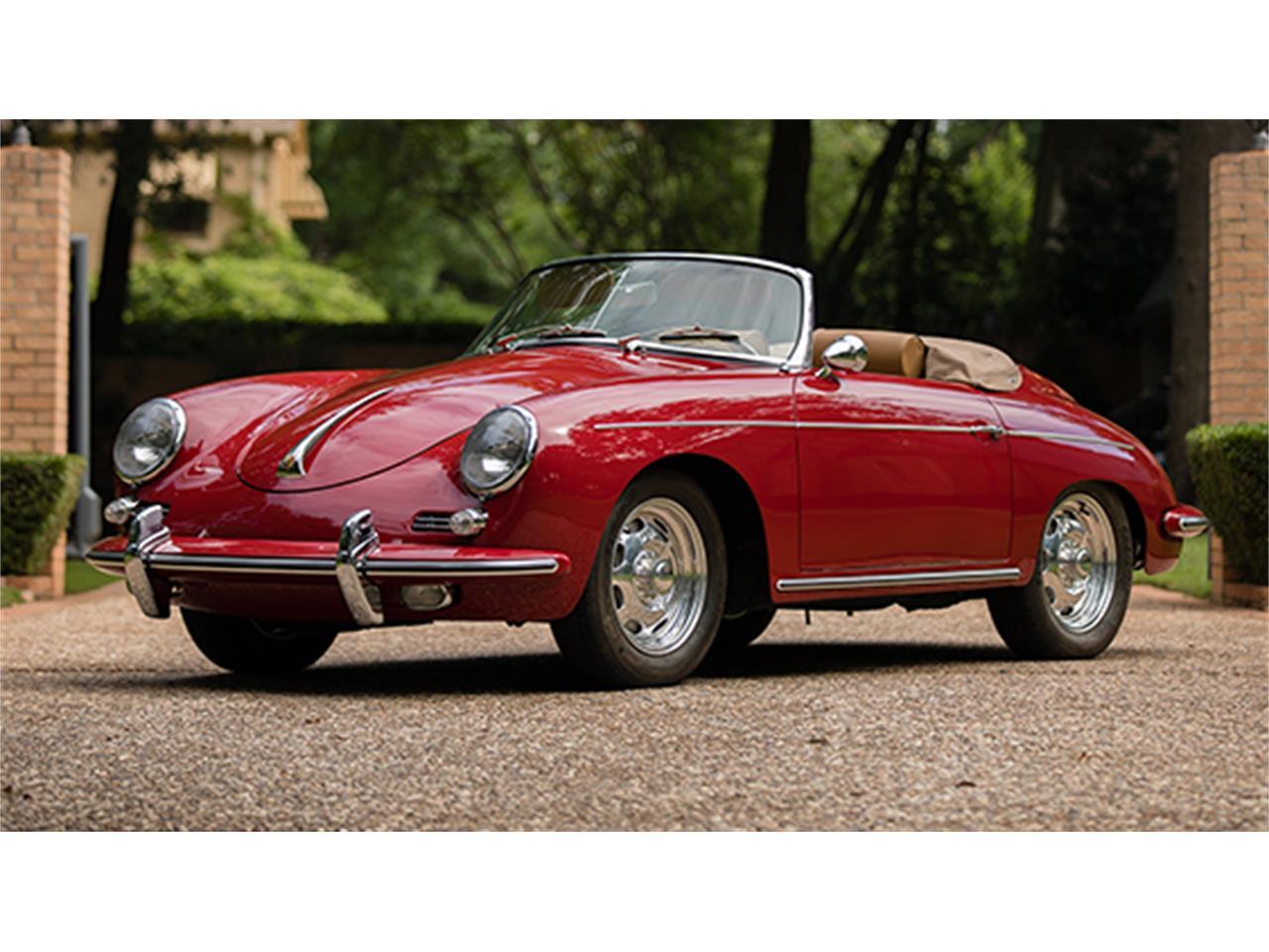 1960 Porsche 356 B 1600 Roadster By Drauz For Sale Classiccars Com Cc 990399