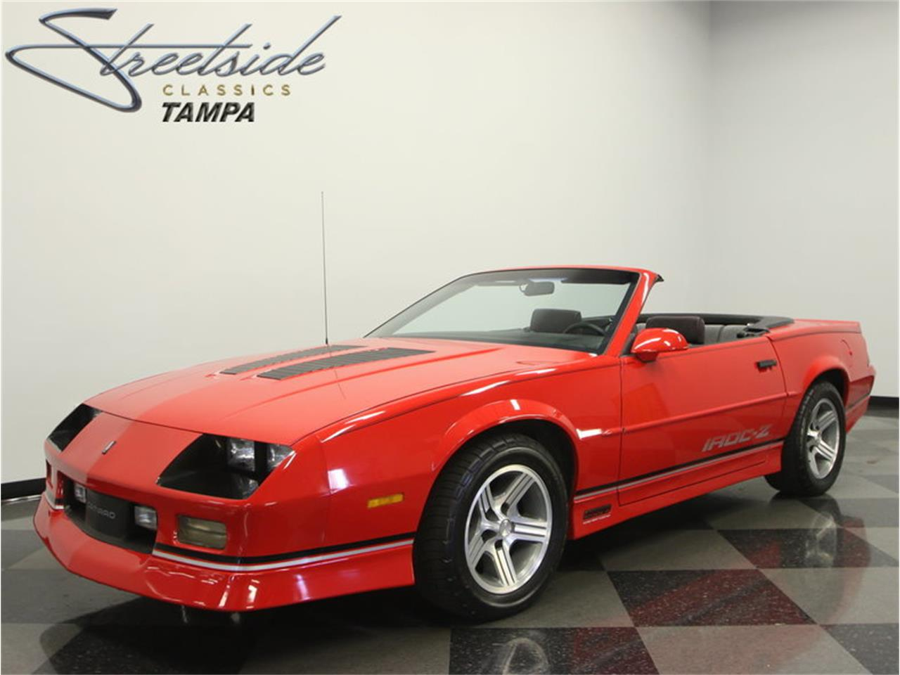 1990 chevrolet camaro iroc z 28 convertible for sale classiccars com cc 990447 1990 chevrolet camaro iroc z 28