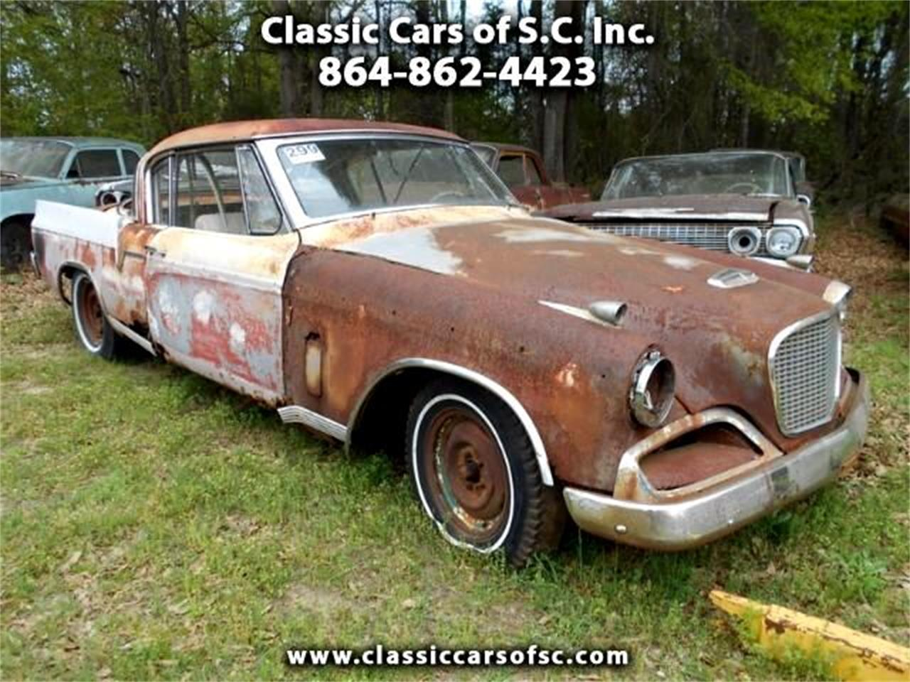 1956 Studebaker Golden Hawk (CC-994842) for sale in Gray Court, South Carolina