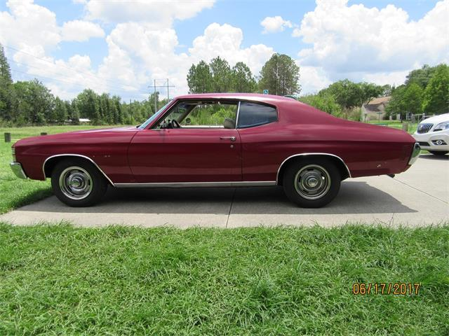 1971 Chevrolet Chevelle Malibu (CC-997647) for sale in Tampa, Florida