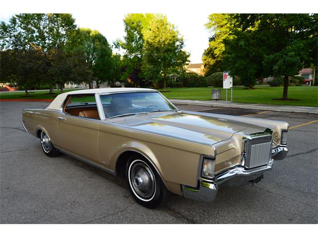 1969 Lincoln Continental Mark Iii For Sale Classiccars Com Cc 997774